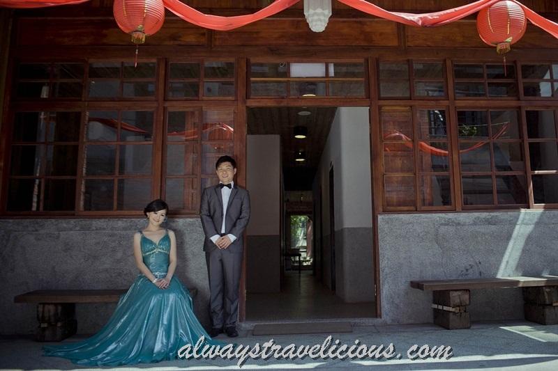 taiwan wedding dress street