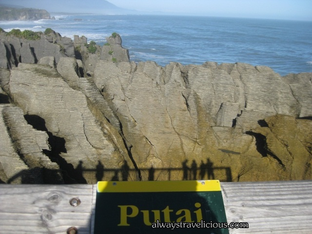 Pancake Rocks at Paparoa National Park Punakaiki, New Zealand.