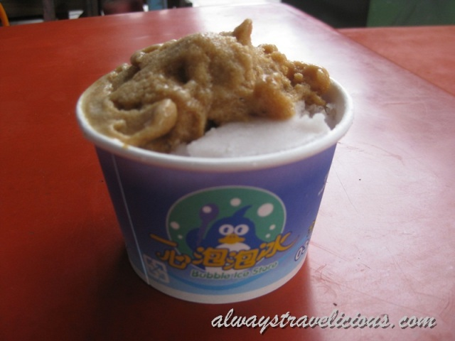 Yixin Bubble Ice @ Hualien