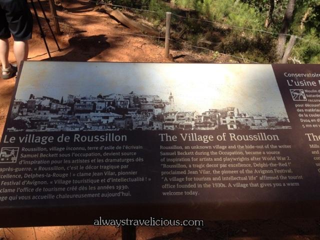 Le Sentier des Ocres @ Roussillon Village 4