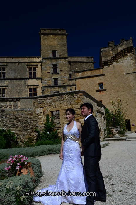 Pre Wedding Photography @ Lourmarin Castle 2
