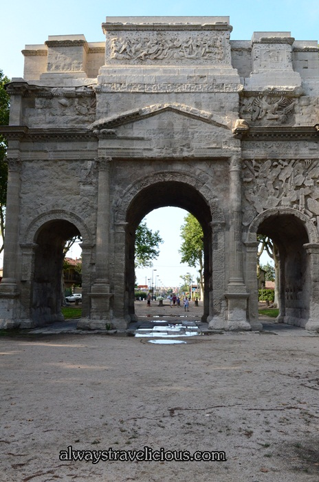 The Triumphal Arch @ Orange France 11