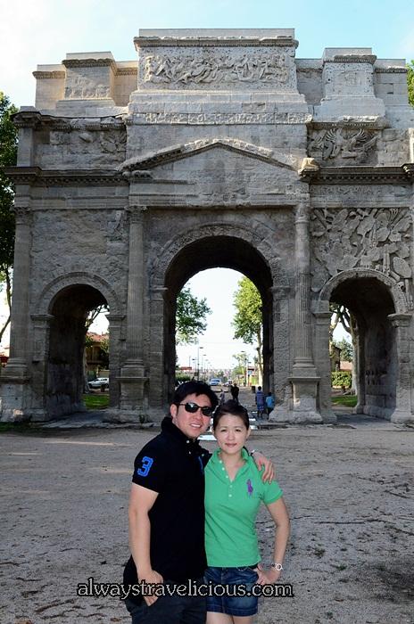 The Triumphal Arch @ Orange France 10