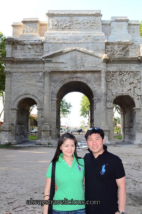 The Triumphal Arch @ Orange France 8