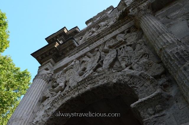 The Triumphal Arch @ Orange France 4