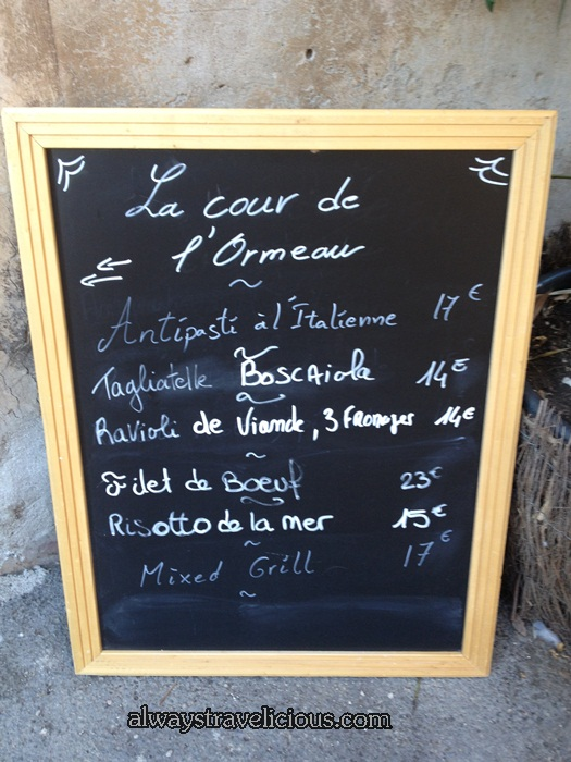 Cafe De L'ormeau  @ Lourmarin France 14