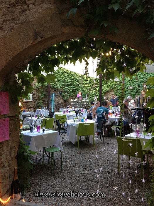 Cafe De L'ormeau  @ Lourmarin France 9