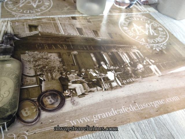 Grand Cafe De La Sorgue @ L'Isle Sur La Sorgue @ Provence France 7