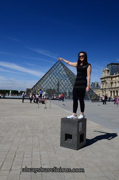 Pyramids @ the Louvre Paris 1