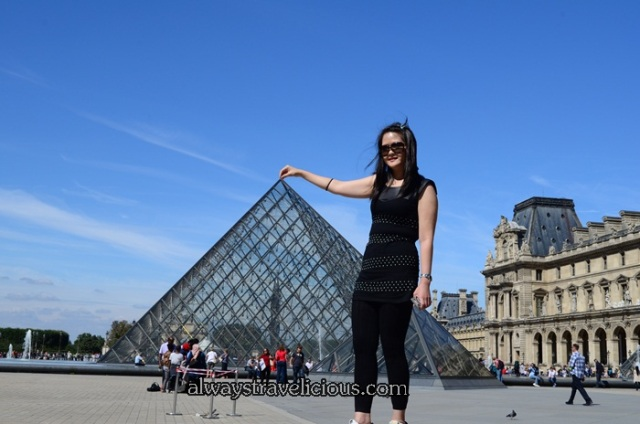 Pyramids @ the Louvre Paris 2
