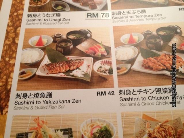 Rakuzen Japanese Restaurant @ Hartamas Mall @ Kuala Lumpur, Malaysia 9