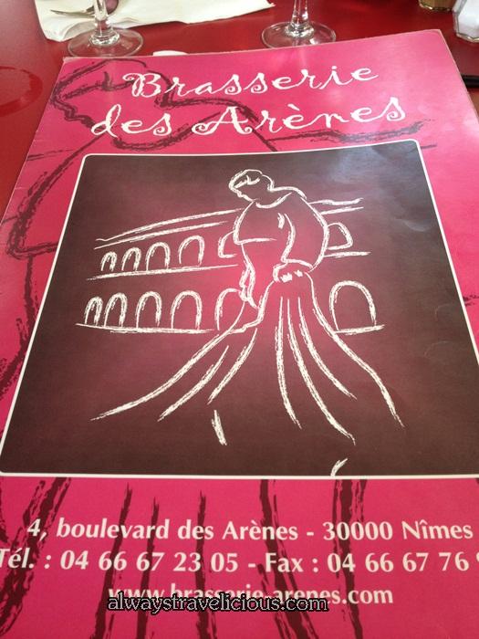 Brasserie Des Arenes @ Nimes 8