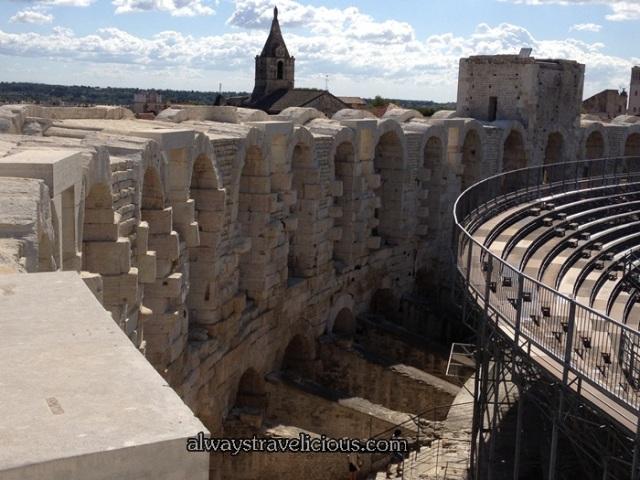 Arles Amphitheatre @ France 5