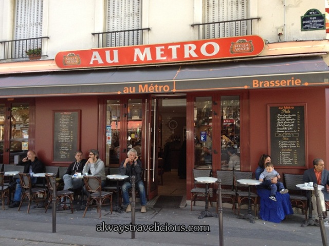 Breakfast at Au Metro @ Paris France 9