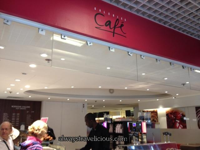 Galeries Cafe @ Lafayette Paris 1