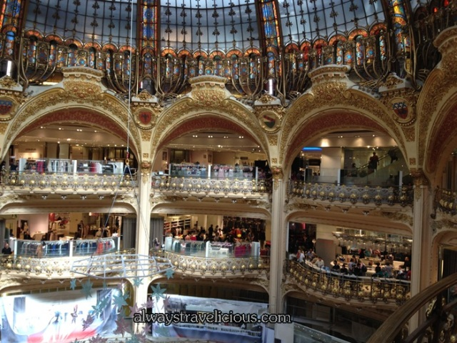 Galeries La Fayette @ Paris France 1