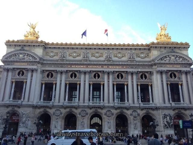 Palais Garnier @ Paris France 3