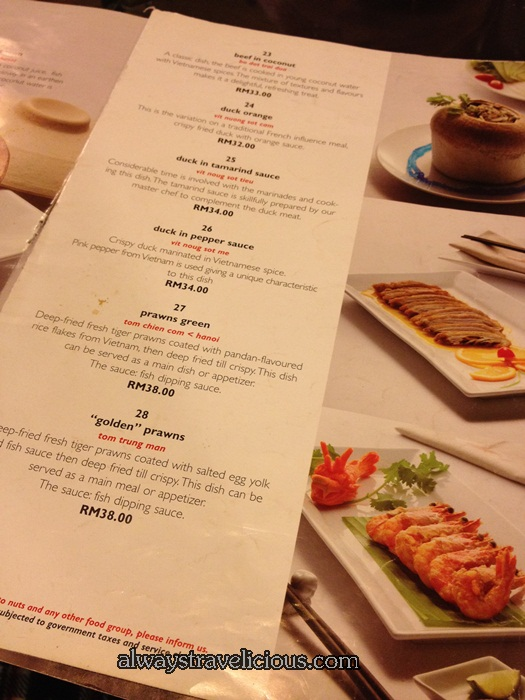 Sao Nam Vietnamese Restaurant @ Empire 6