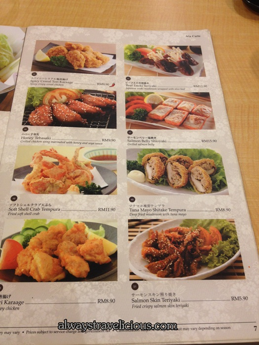 Ichiban Boshi Japanese Restaurant @ Publika Mall @ Solaris Dutams, Kuala Lumpur,  Malaysia 9