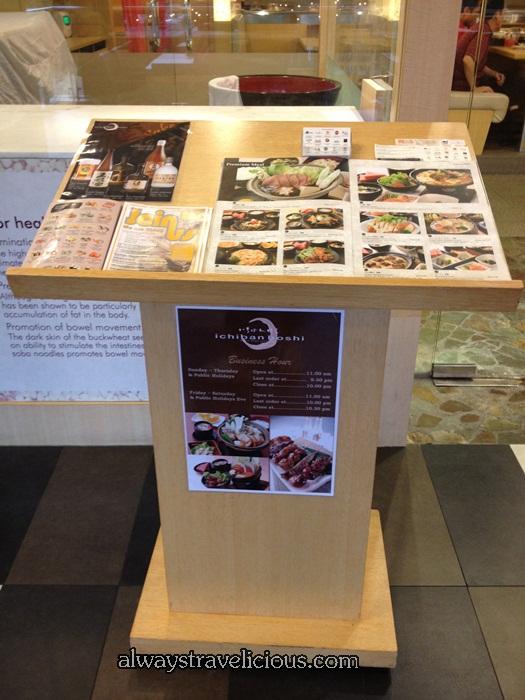 Ichiban Boshi Japanese Restaurant @ Publika Mall @ Solaris Dutams, Kuala Lumpur,  Malaysia 1