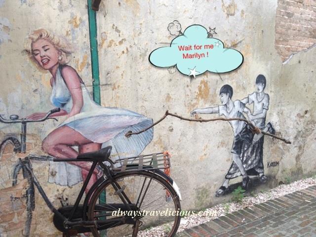 Marilyn Monroe Mural Ipoh 6