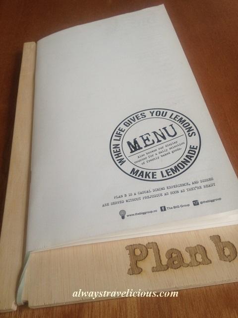 plan b menu 5