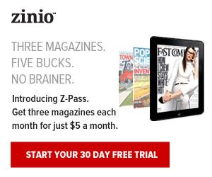 10 Free Magazine Subscription Giveaways From Zinio - Always