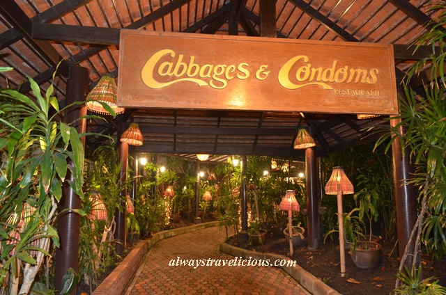 Cabbages & Condoms Restaurant @ Bangkok, Thailand - Always ...