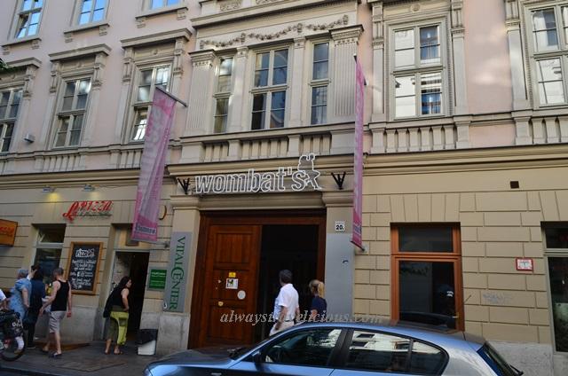 Wombats Hostel Budapest Hungary 2