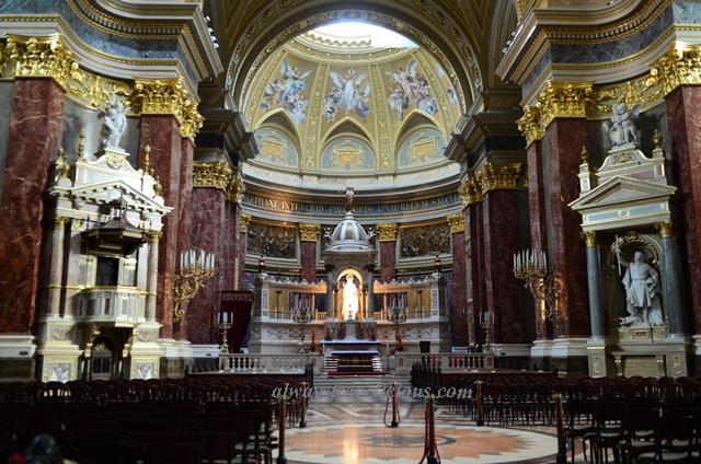 St Stephen's Basilica Budapest 8
